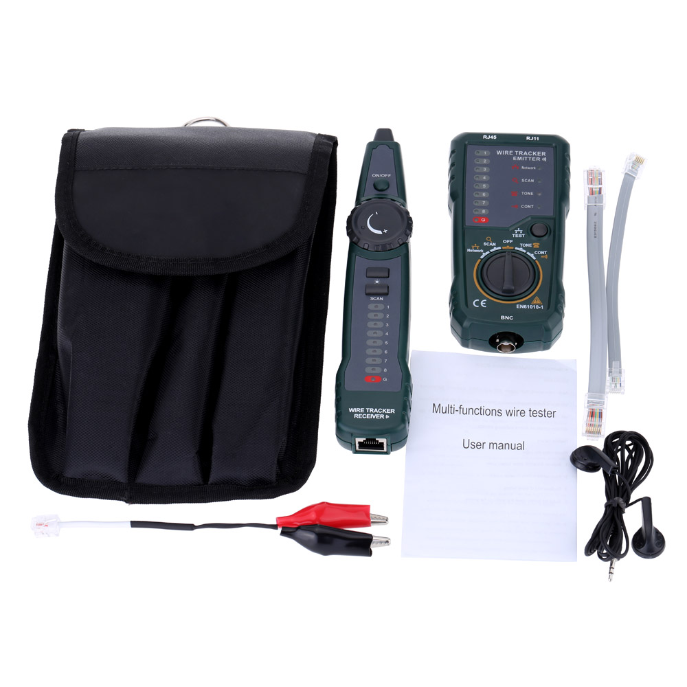 Fy868 Multi Function Networking Tools Telephone Network Wire Tracker Telecom Wiring Diagram Rj45 Hand Held Cable Testing Tool Tester
