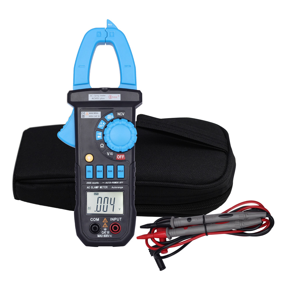 Digital Clamp Meter Multimeter The Current Tongs Circuit Diagnostic Diode Tester Tool Dc Ac Voltage Resistance Continuity