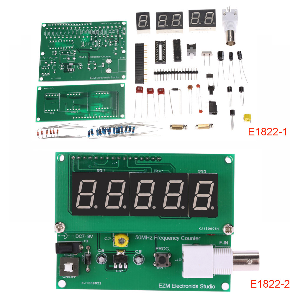 Hi Frequency Counter Ic : High sensitivity frequency counter hz mhz cymometer