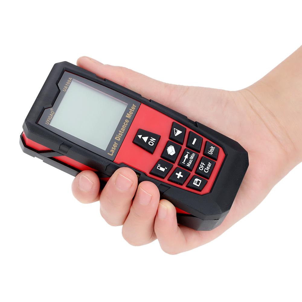 100mDigital Laser Distance Meter Portable Range Finder Electronic Ruler Handheld Laser Rangefinder Self .