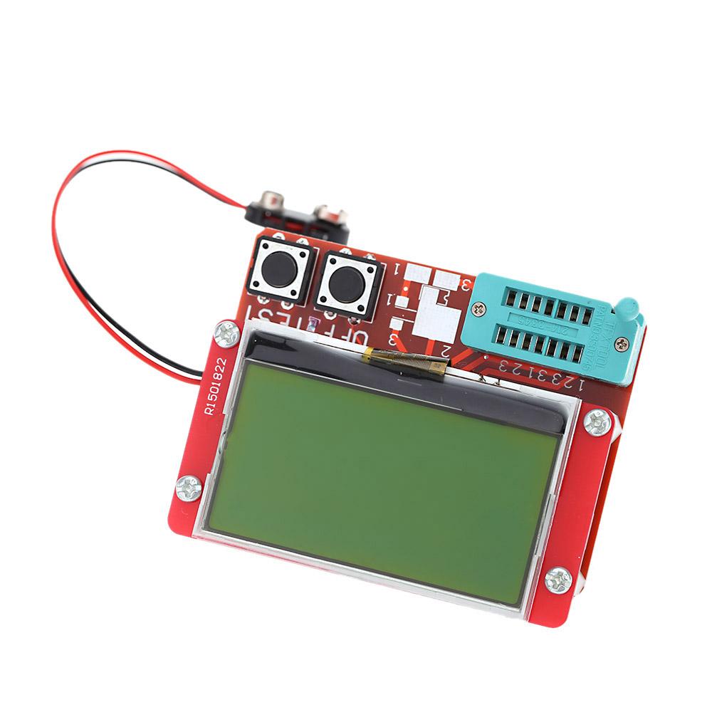 Multi Functional Lcd Transistor Tester Diode Thyristor Resistors Lcr Bridge Ebay Capacitance Esr Meter Diagnostic Tool With Big