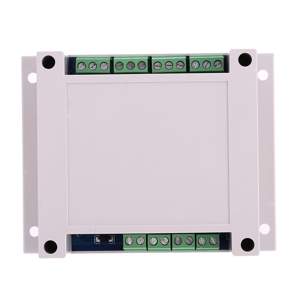 DC12V/24V 4-Channel Relay Module Programmable Signal Trigger