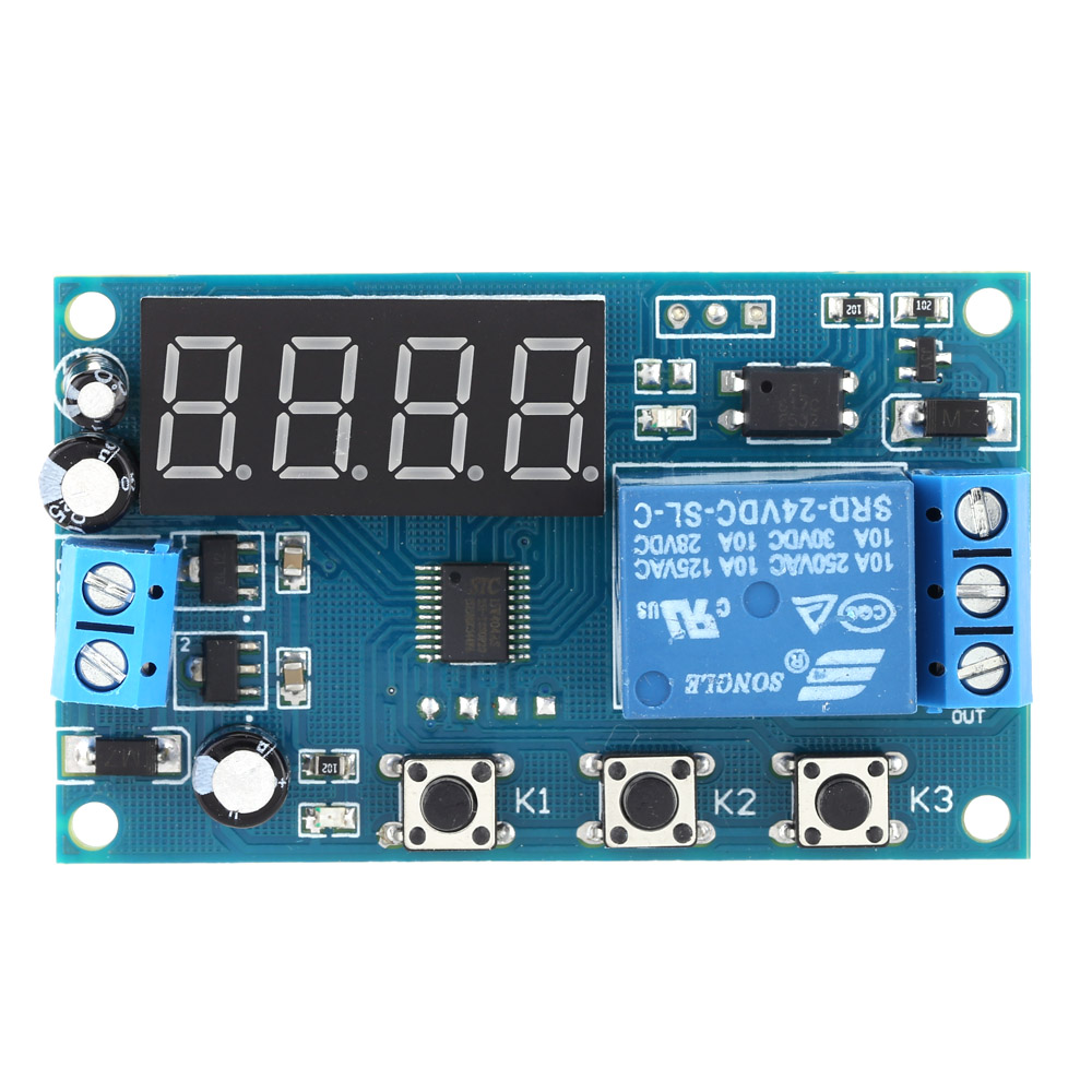 Multifunction Delay Time Module Switch Control Relay Cycle Timer Power 1 Relais 12v