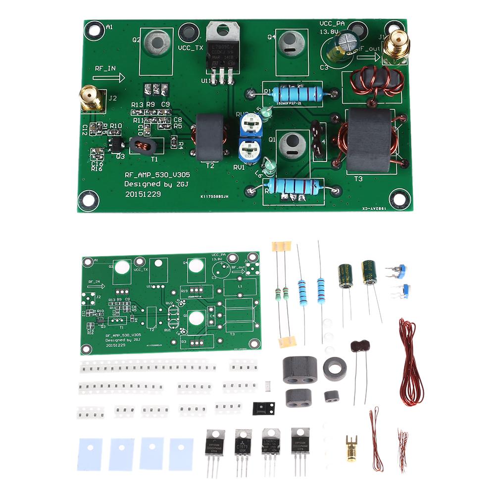 45W SSB AM Linear Power Amplificateur CW FM Power Amplifier HF Radio