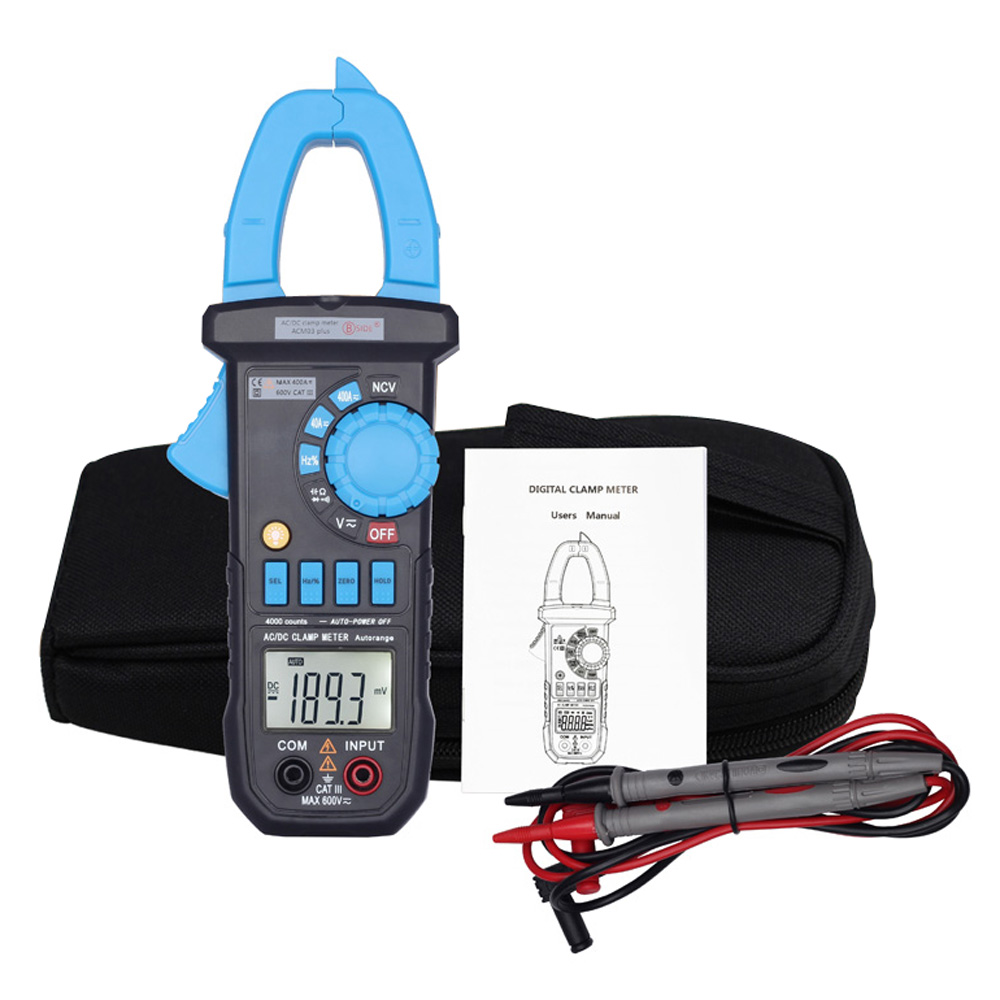 Ac Voltage Tester : Digital multimeter lcd clamp meter the current tongs dc ac