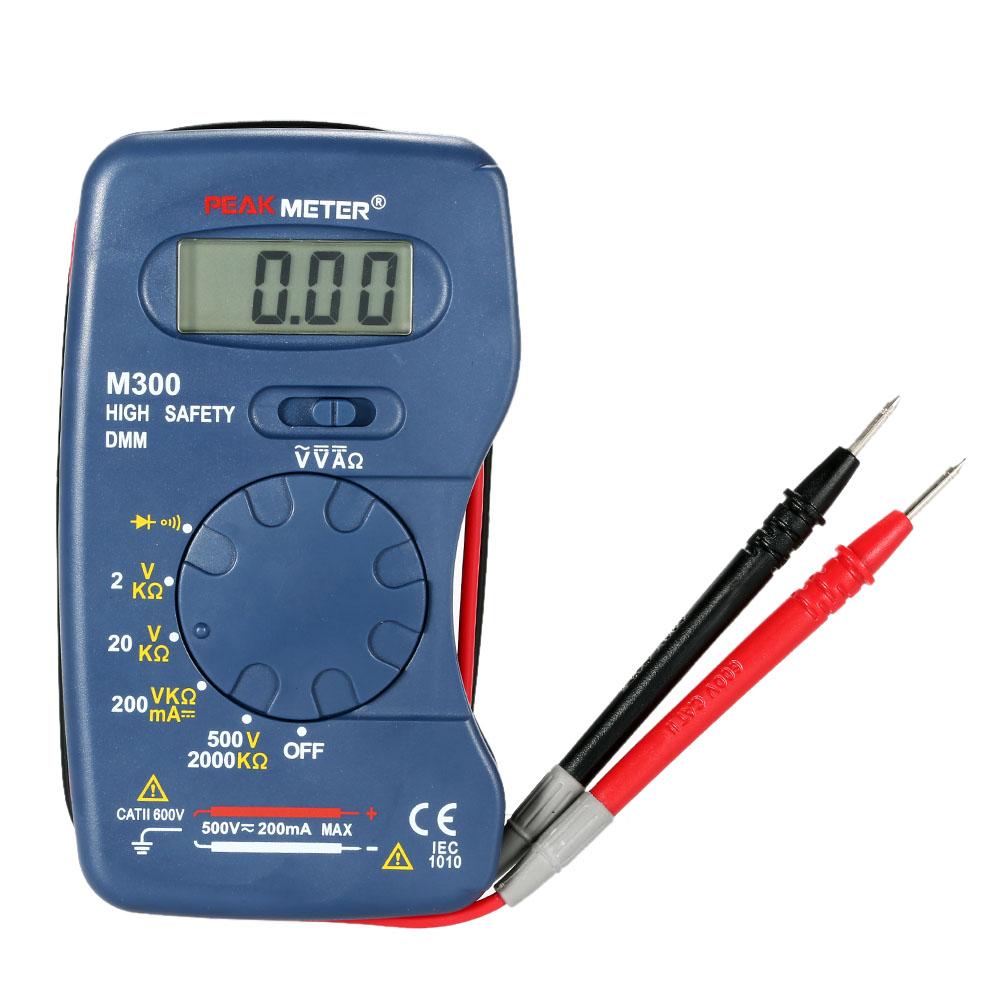 M300 Handheld Mini Digital Multimeter Professional Ac Dc