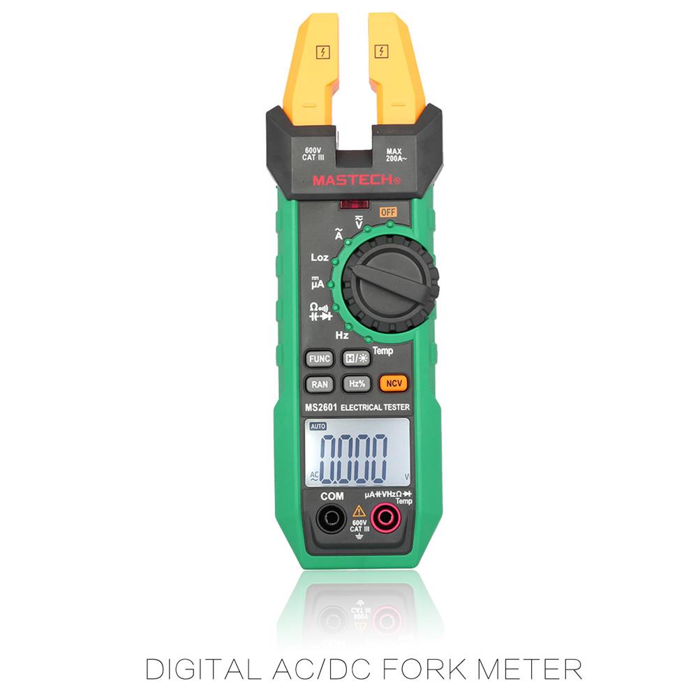 UNI-T UT202A Data Hold 600A DC//AC Voltage AC Current Resistance Digital Clamp Me