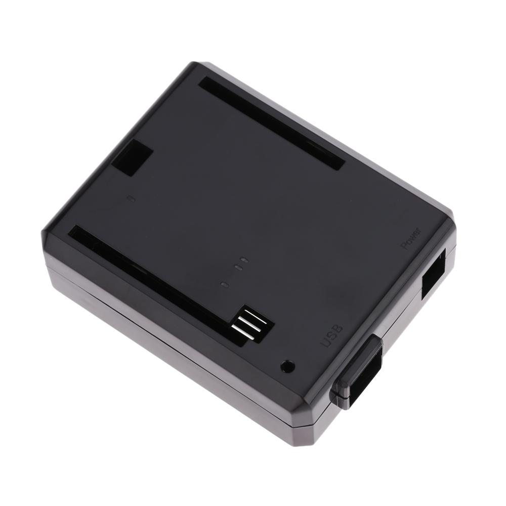 Uno R3 Case Enclosure New black Computer Box Compatible with Arduino UNO R3