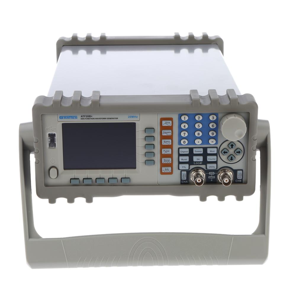 GRATTEN ATF20B+ Double Channel DDS Function Signal Generator