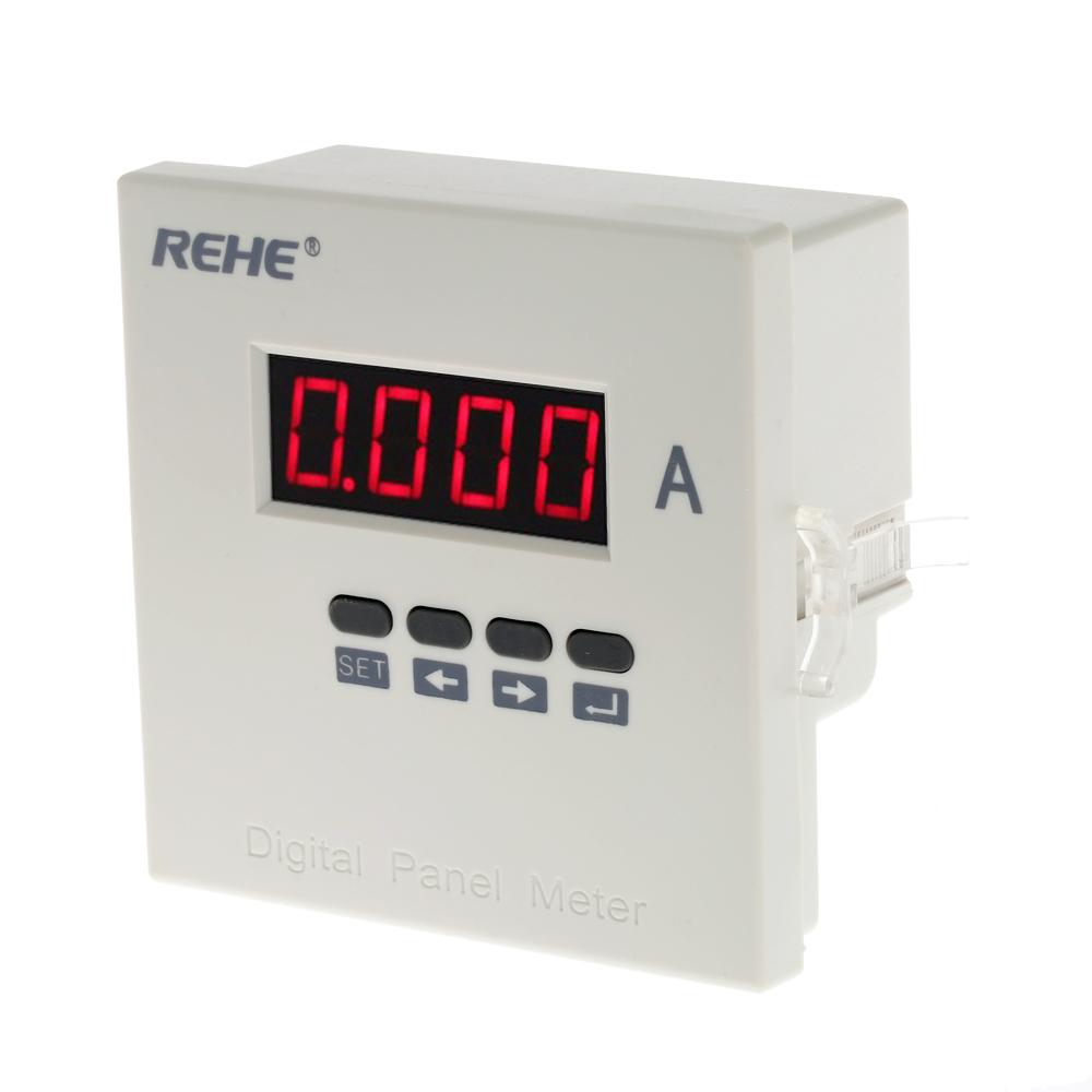 Digital Ammeter Single Phase Ac Current Panel Meter Wiring Diagram Ratio Programmable Tester 5a Dc80v 270v Amperimetro