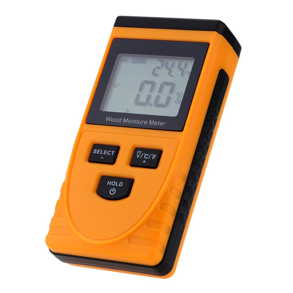 Digital Humidity Meter : Precision digital wood moisture meter lcd display