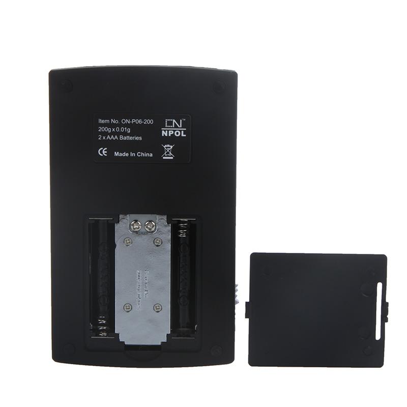 200g Mini Digital Jewelry Scales Balance 0 01g Electronic
