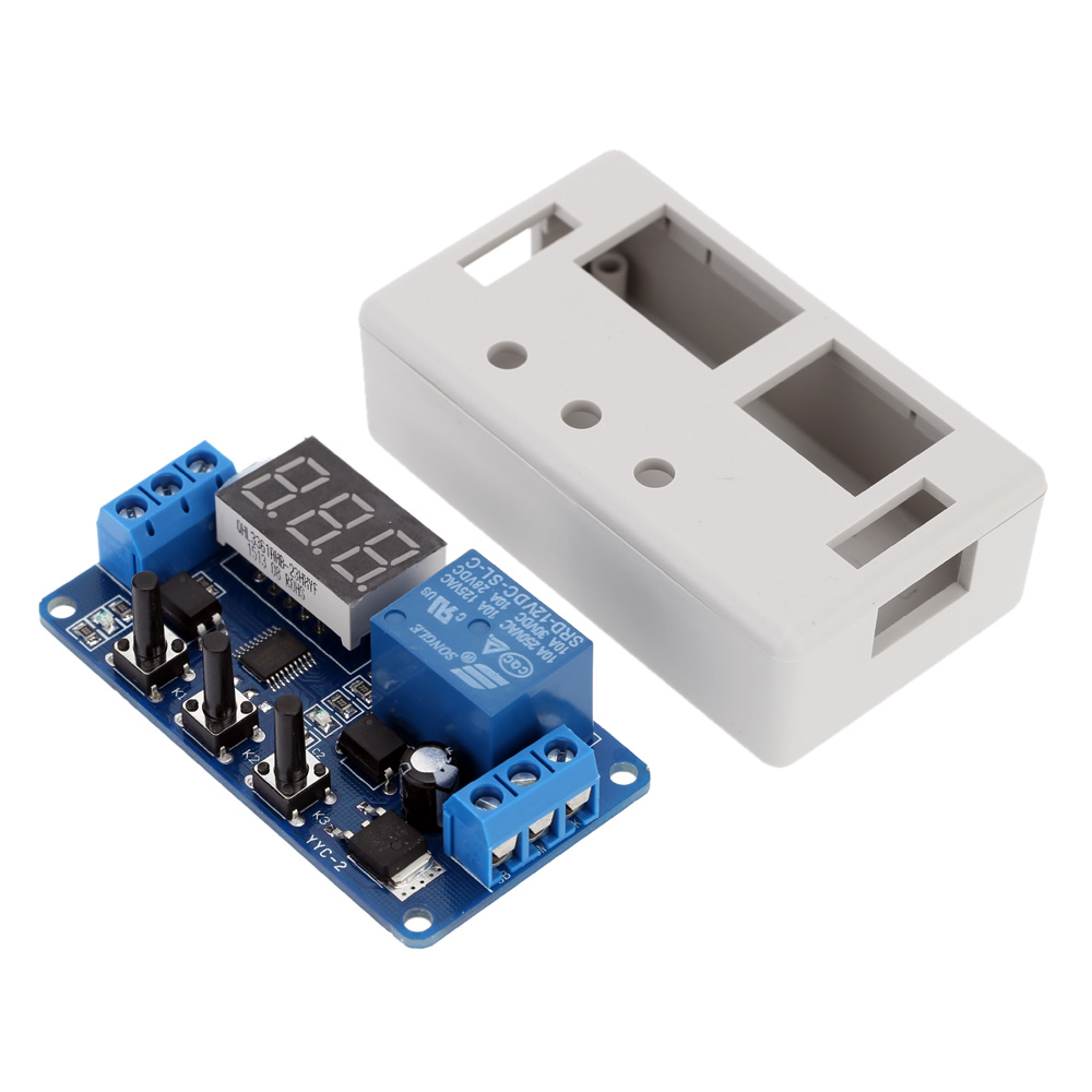 New Upgrades12v Led Timer Module Automation Delay Control Relay Switch Bluetooth With Case High Quality