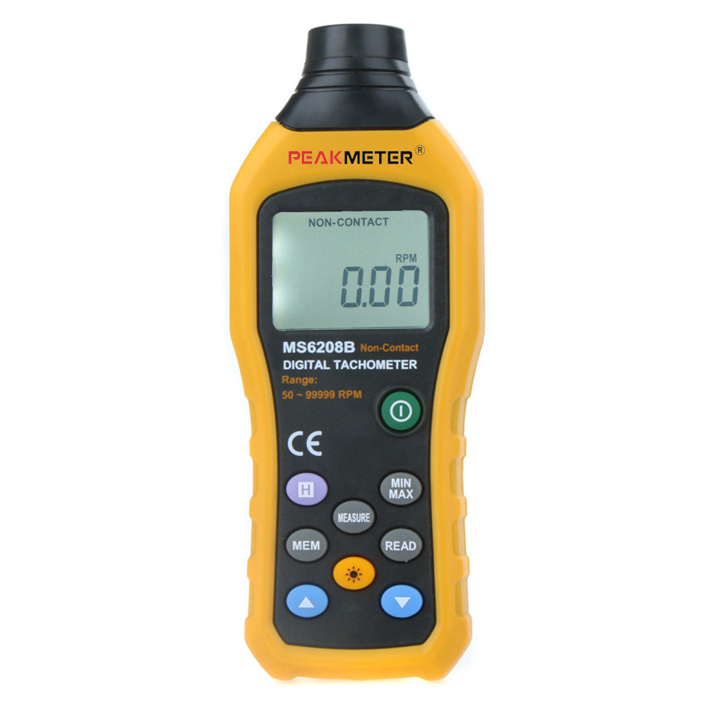 Hyelec Ms6208b Non Contact Digital Tachometer Speed Square
